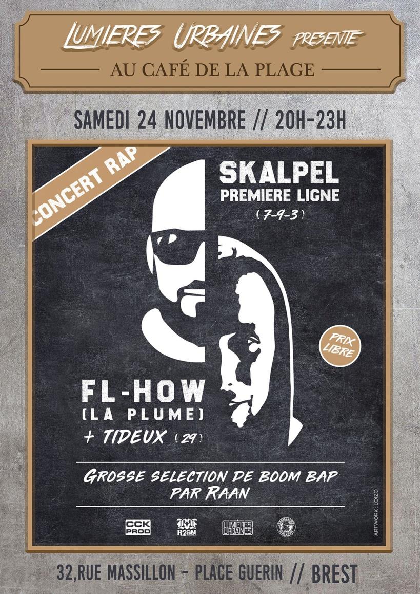 Concert à Brest le 24 novembre 2018