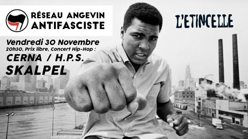 Concert à Angers le 30 novembre 2018