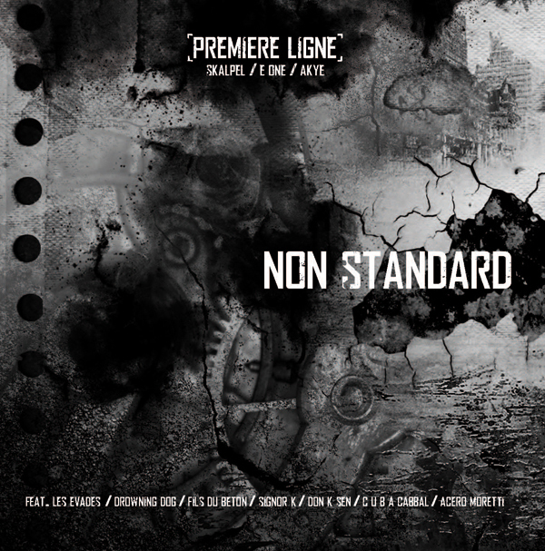 Maxi 'Non Standard' disponible en Vinyl et en Digital