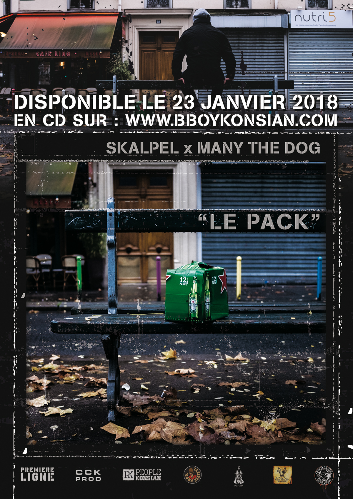 """Le pack"" de Skalpel x Many the Dog disponible en CD & Digital"