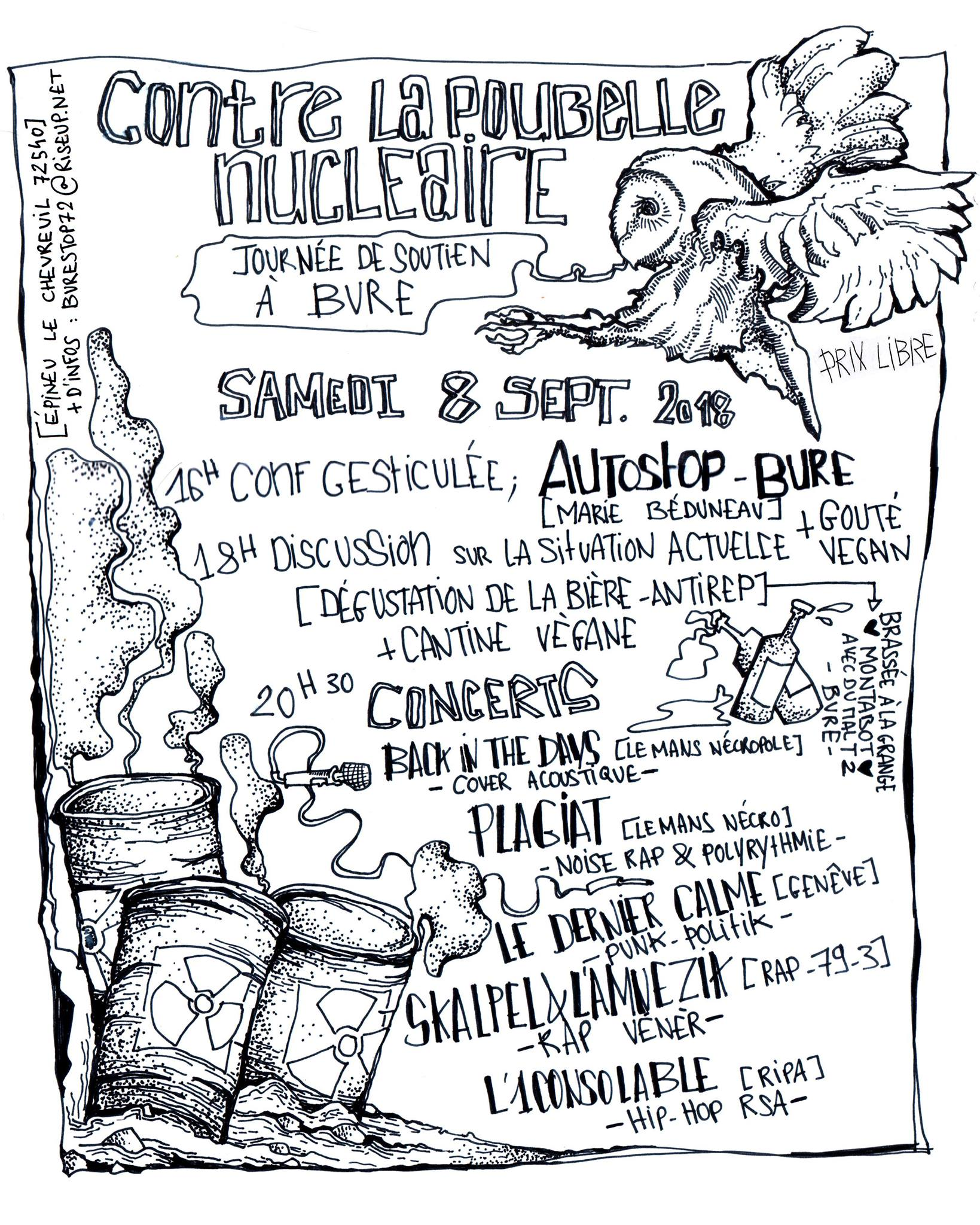 Concert à Épineu-le-Chevreuil le 08 septembre 2018