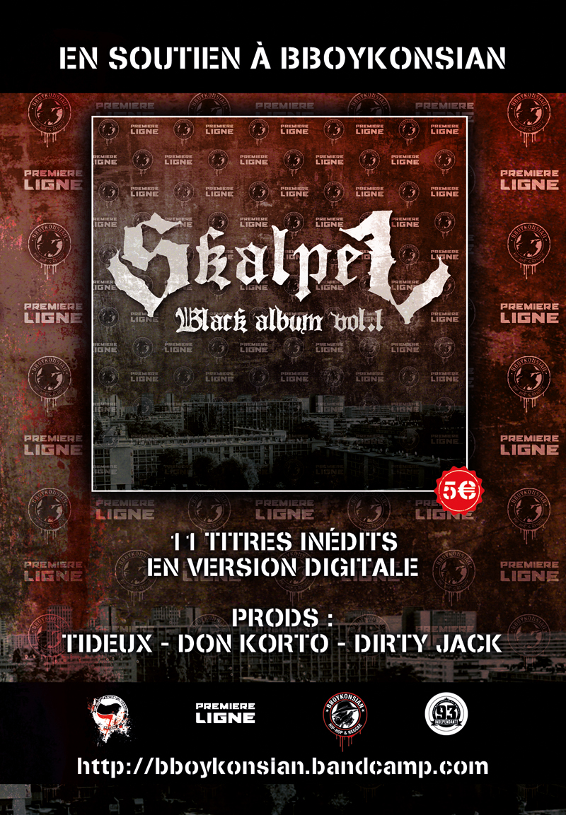 Le 'Black Album Vol.1' de Skalpel disponible en Digital