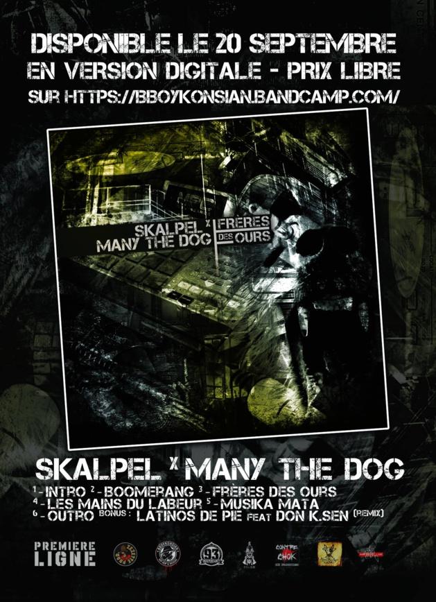 Le Maxi 'Frères des ours' de Skalpel x Many the Dog disponible en version digitale
