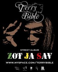 "Téléchargez le street album ""Zot ja sav"" de Terry Bible"