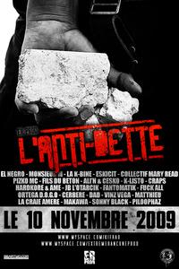 Compilation 'L'anti-dette' de Kifräo le 10 novembre 2009