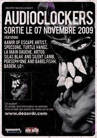 Album éponyme du duo Audioclockers dans les bacs le 07 novembre