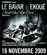 Le Bavar & Ekoué 'Nord sud est ouest 2ème Episode' disponible le 16 novembre 2009