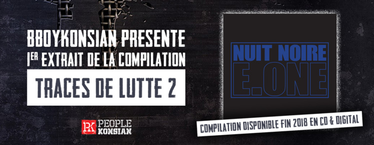 """Le Single """"Nuit noire"""" d'E.One (Première Ligne) disponible en Digital"""