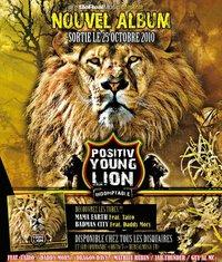 Sortie de l'album 'Indomptable' du Positiv Young Lion