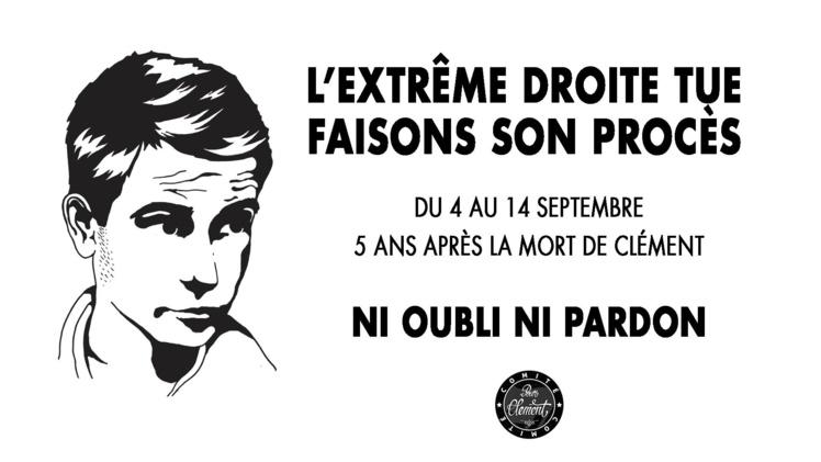 """""""L'extrême droite tue, faisons son procès"""" du 4 au 14 septembre 2018"""