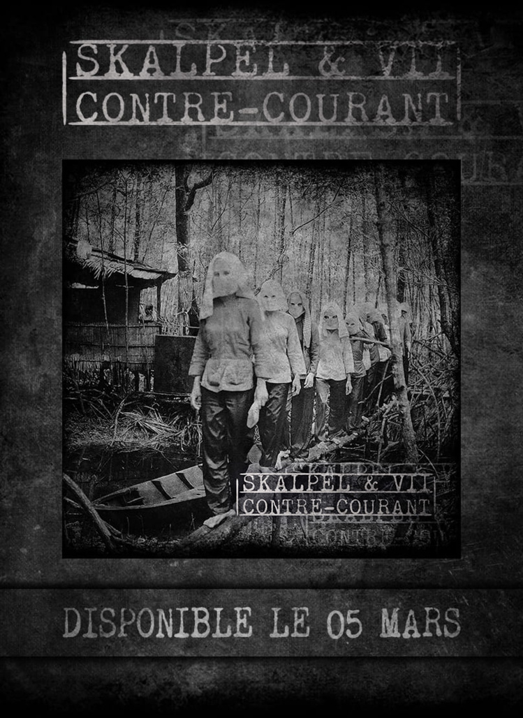 "Sortie du EP ""Contre-courant"" de Skalpel & VII en CD & Digital"