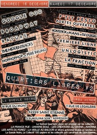 Festival 'Quartiers libres #2' à Saint-Etienne les 16 et 17 décembre 2011