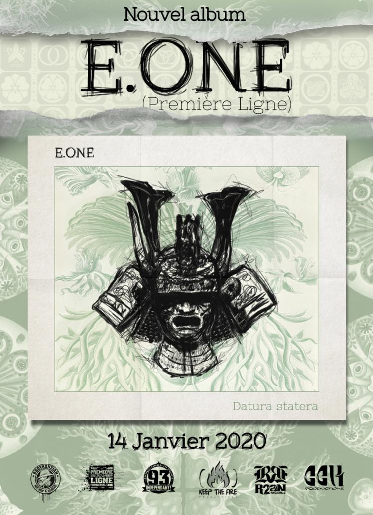 """Sortie de l'album d'E.One """"Datura statera"""" en CD & Digital"""