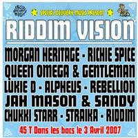 Special Delivery présente son nouveau Riddim 'Vision'