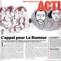 Appel de soutien à La Rumeur