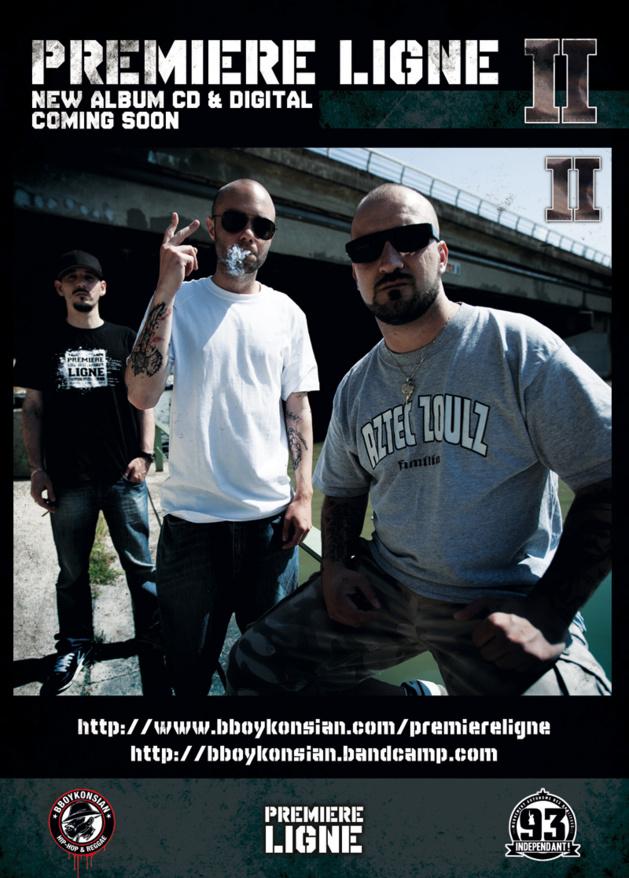 Deuxième album de Première Ligne 'II' disponible prochainement