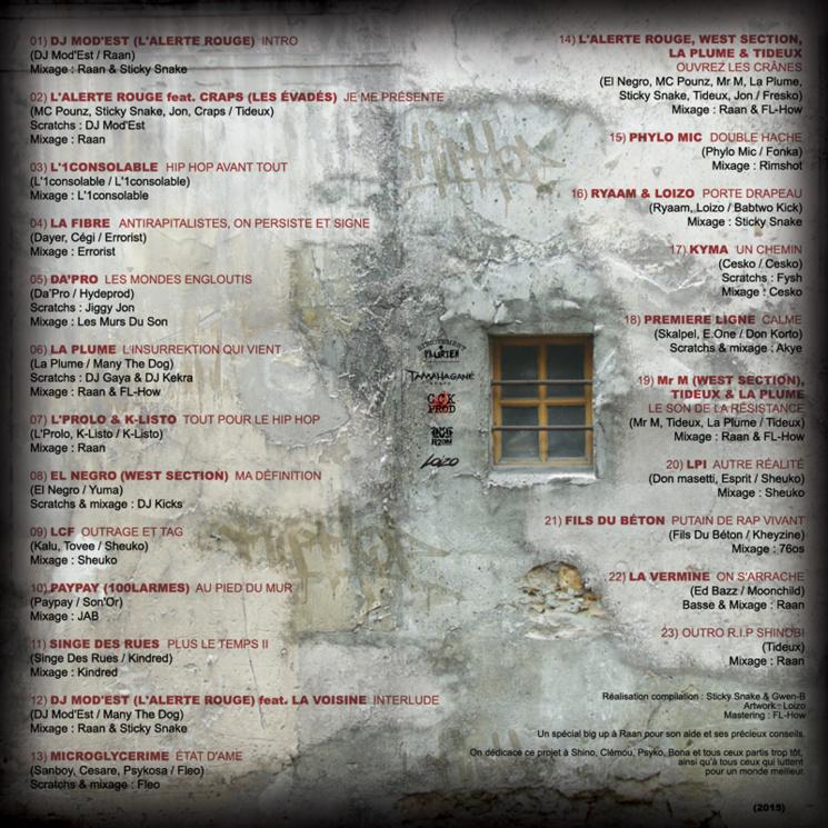 La compilation 'HipHop avant tout' disponible en libre téléchargement