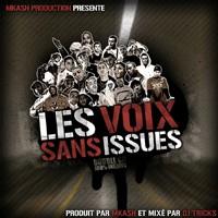 Double CD 'Les voix sans issues' produit par M-Kash