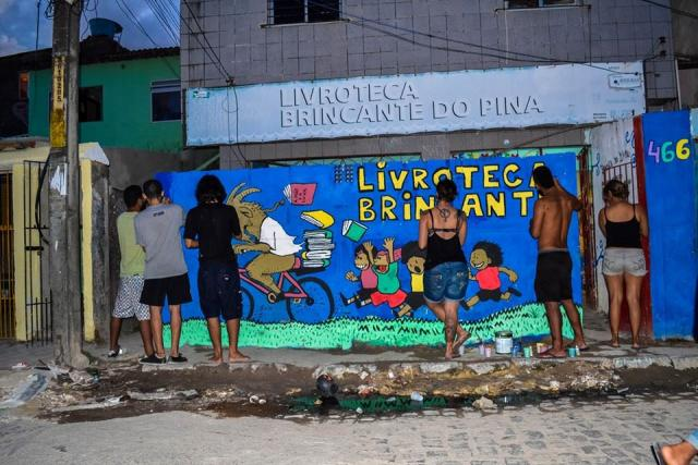 "Emission ""Frontline"" du 13 septembre 2019 avec des membres de la Livroteca Brincante do Pina et de Biblio'tess"