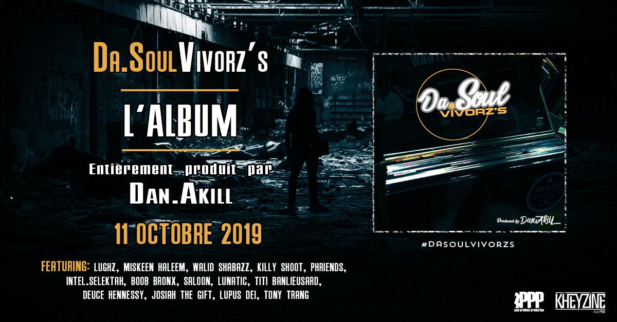 "L'album de Dan.Akill ""Da.Soulvivorz's"" disponible en libre téléchargement"