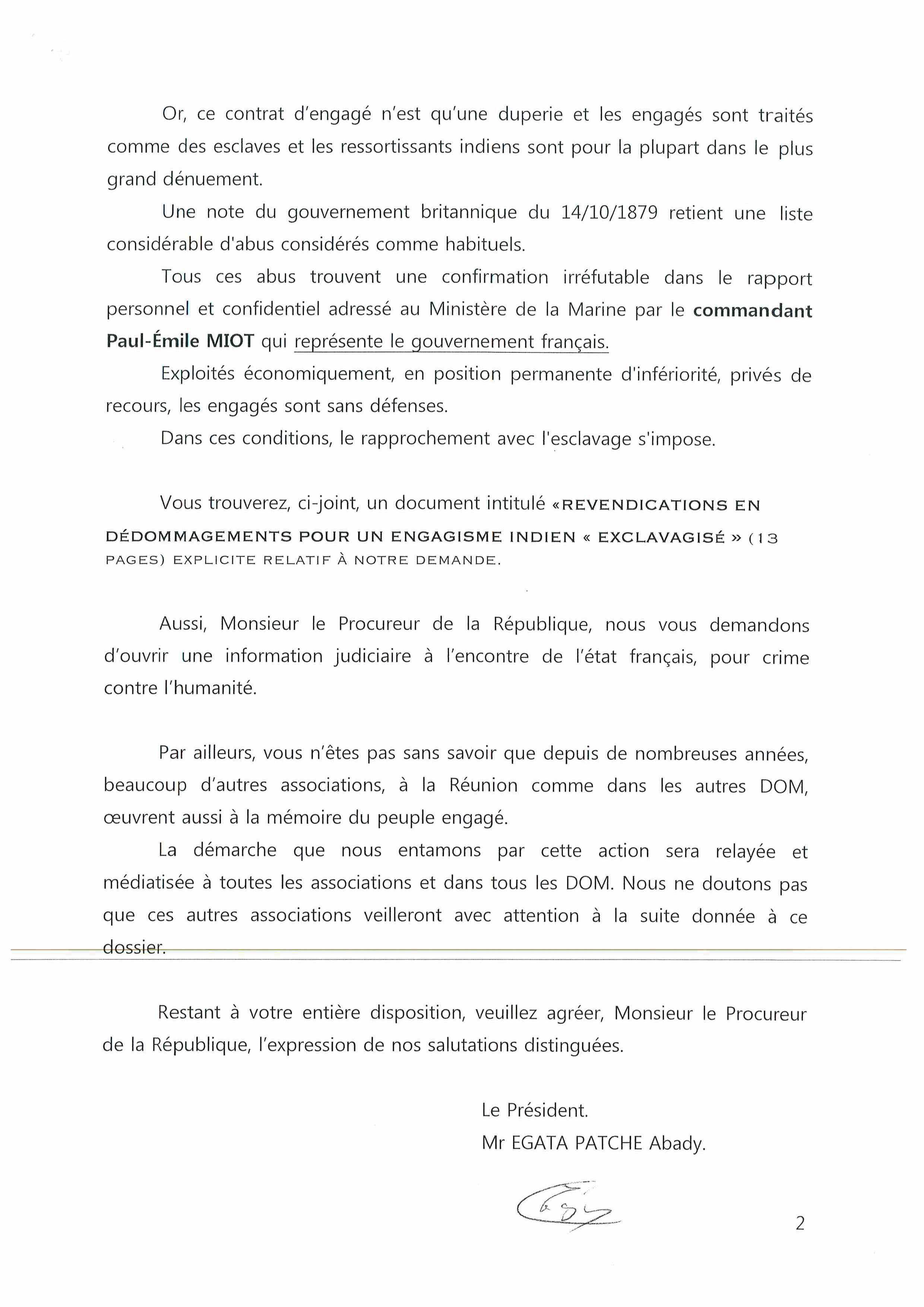 """Emission """"Frontline"""" du 24 janvier 2020 autour de """"La colère d'Abady"""" et sur l'engagisme"""