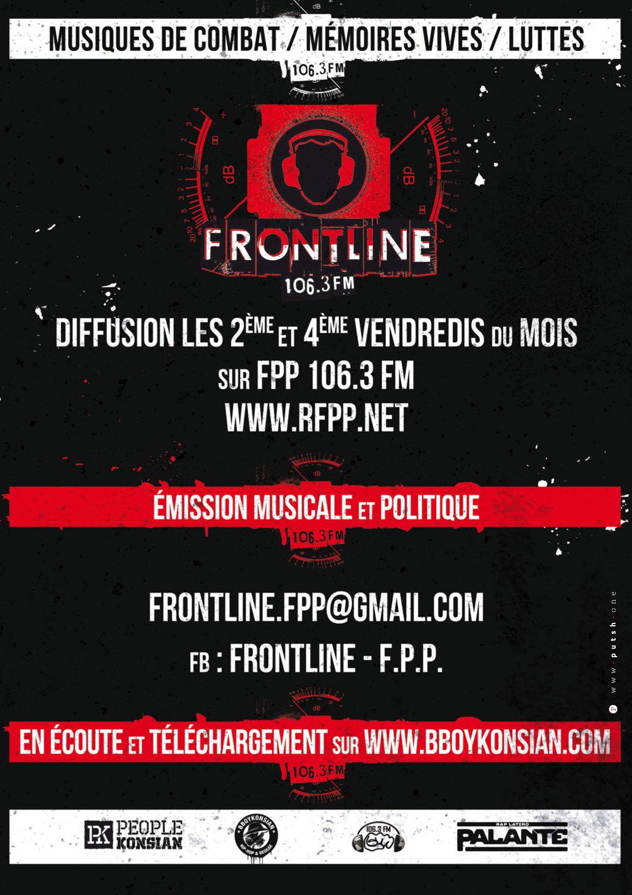 """Emission """"Frontline"""" du 25 décembre 2020 autour de la loi sécurité globale"""