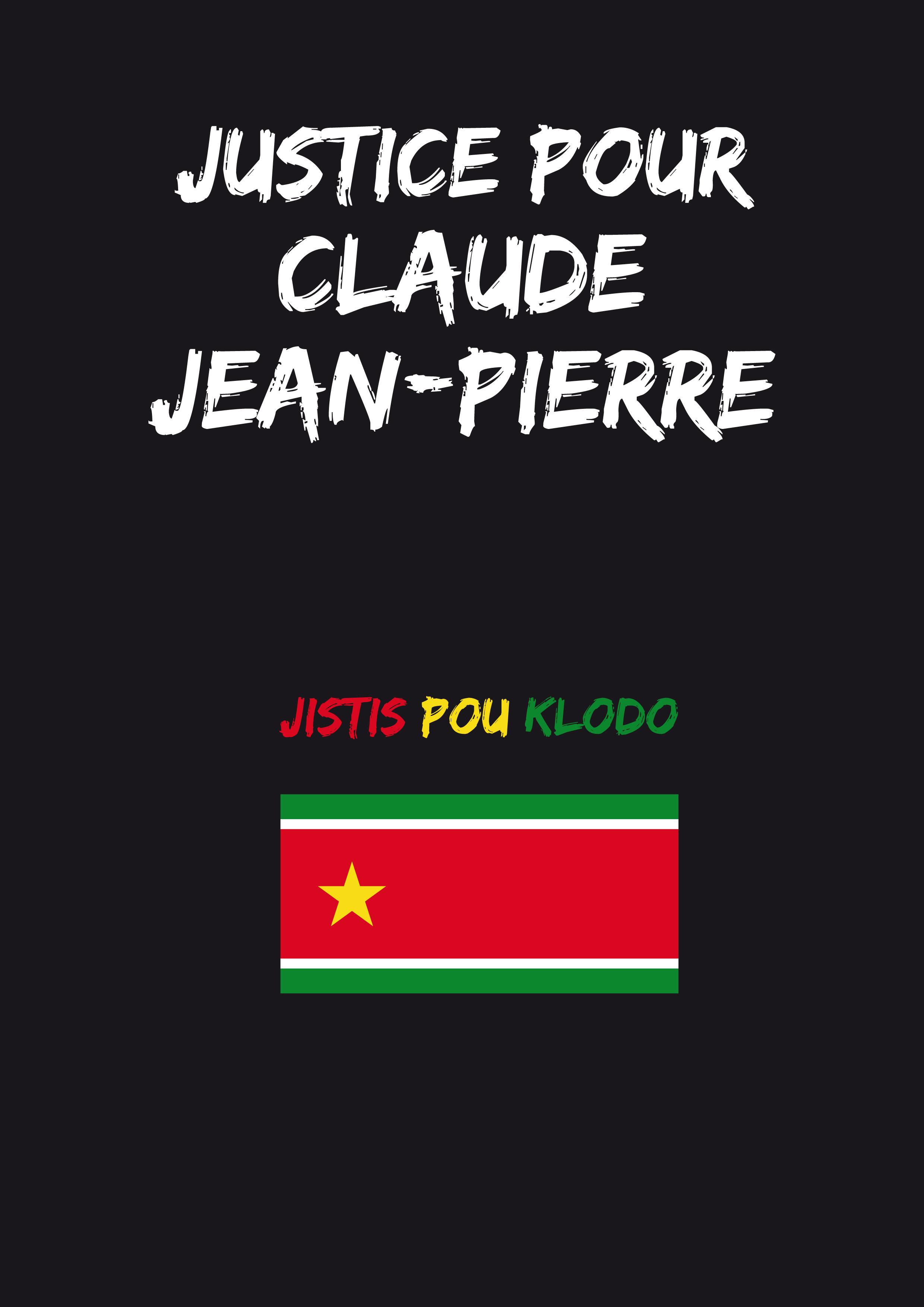 """Emission """"Frontline"""" du 12 mars 2021 avec la famille de Claude Jean-Pierre"""