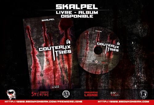 Sortie du livre-album 'A couteaux-tirés' de Skalpel
