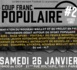 """Soirée """"Coup franc populaire #2"""" du MFC 1871 le 26 janvier 2019 à Paris"""
