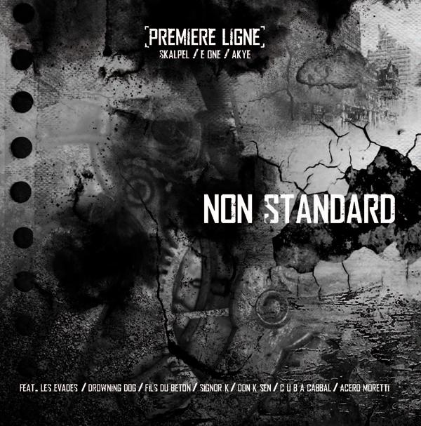 Maxi 'Non Standard' disponible en Vinyl et en Digital