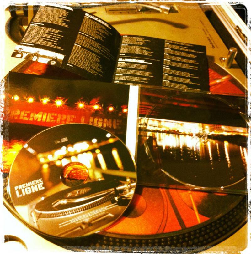 L'album éponyme de Première Ligne disponible en CD et Digital