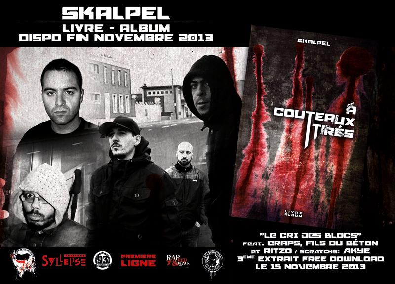 Skalpel feat Craps, Fils du Béton et Ritzo 'Le cri des blocs' (Free Download)