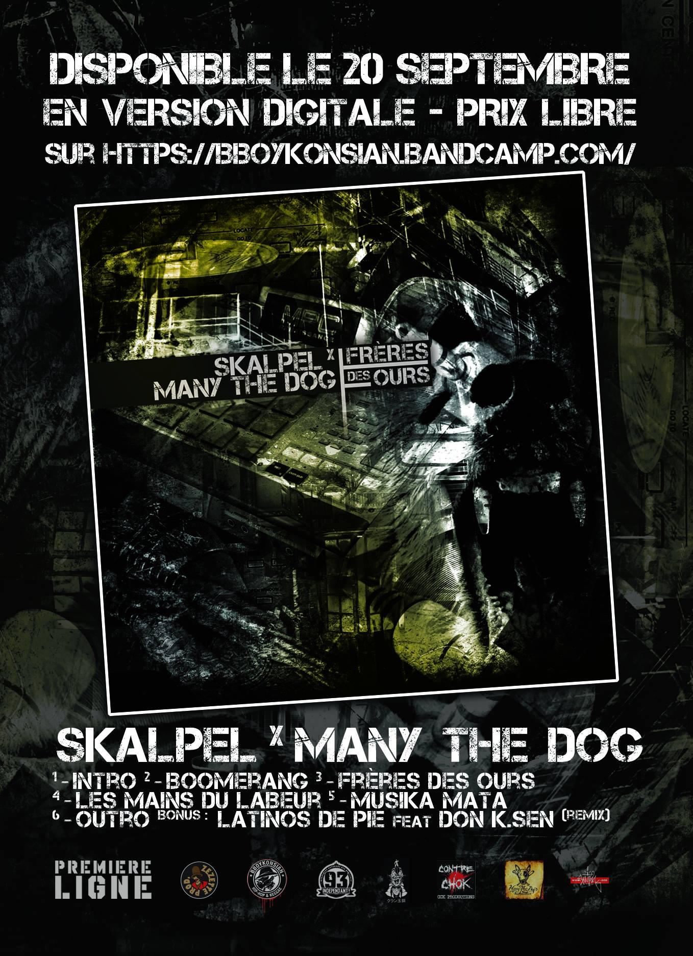 Maxi 'Frères des ours' de Skalpel x Many the Dog disponible le 20 septembre 2016